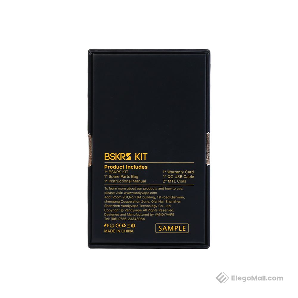 Vandyvape BSKRS Pen Kit