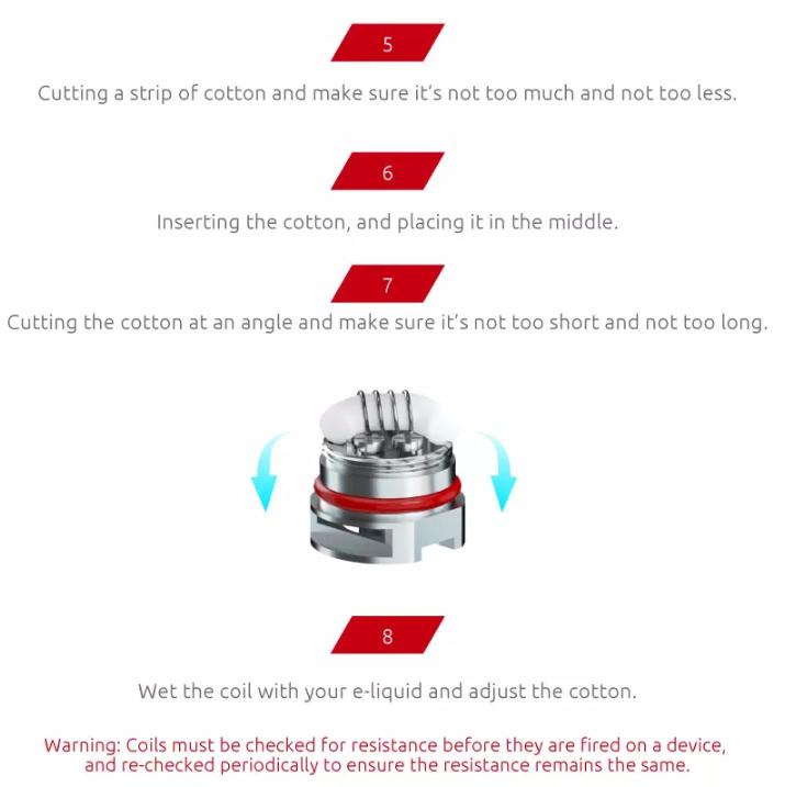 SMOK RPM RBA Coil UAE