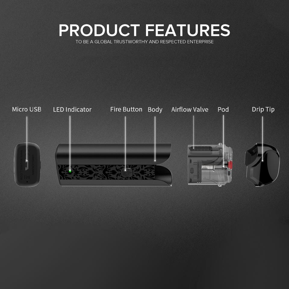 Electronics - UWELL - Crown Pod Kit