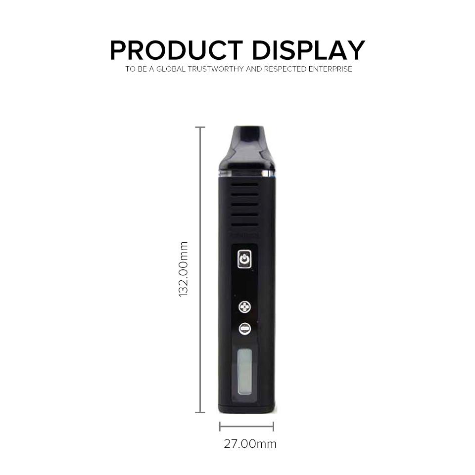 ANIX Pathfinder DH Kit | Dry Herb Device | Black | 2000mAh