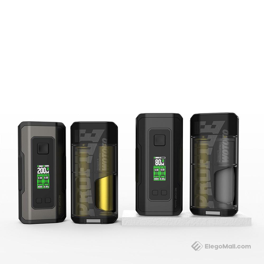 Wotofo Profile Squonk Box Mod 80W/200W