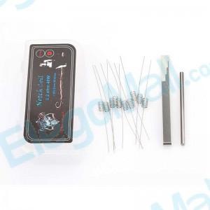 Demon Killer 316L Notch Coil Type D Resistance Wire (10pcs)