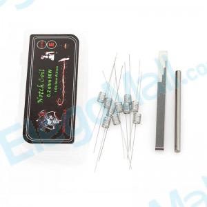 Demon Killer 316L Notch Coil Type E Resistance Wire (10pcs)
