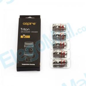 Aspire Triton/Triton 2 Ni200 Coil 0.15ohm (5 pcs)