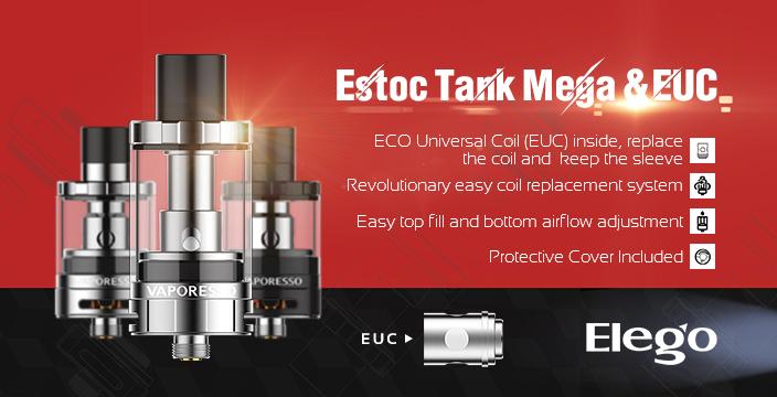 Vaporesso Estoc Tank Mega With EUC Coil