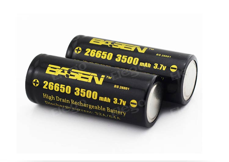 Basen Max 64A 26650 Battery (3500mah)