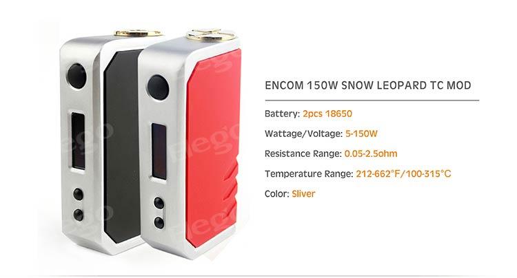 ENCOM 150W SNOW LEOPARD TC MOD