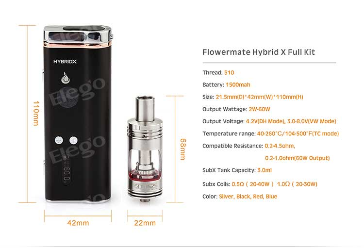 Flowermate Hybrid X Full Kit