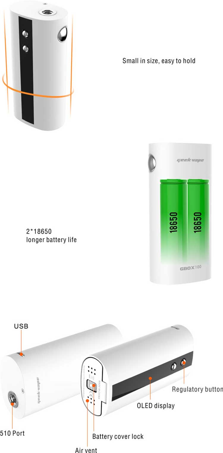 GeekVape GBOX100 TC Mod