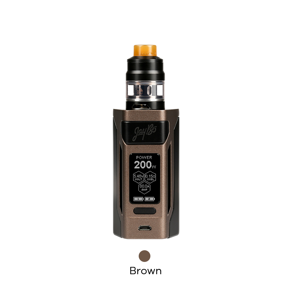 Wismec Reuleaux RX2 20700 Kit with Gnome Atomizer Designed by Jaybo