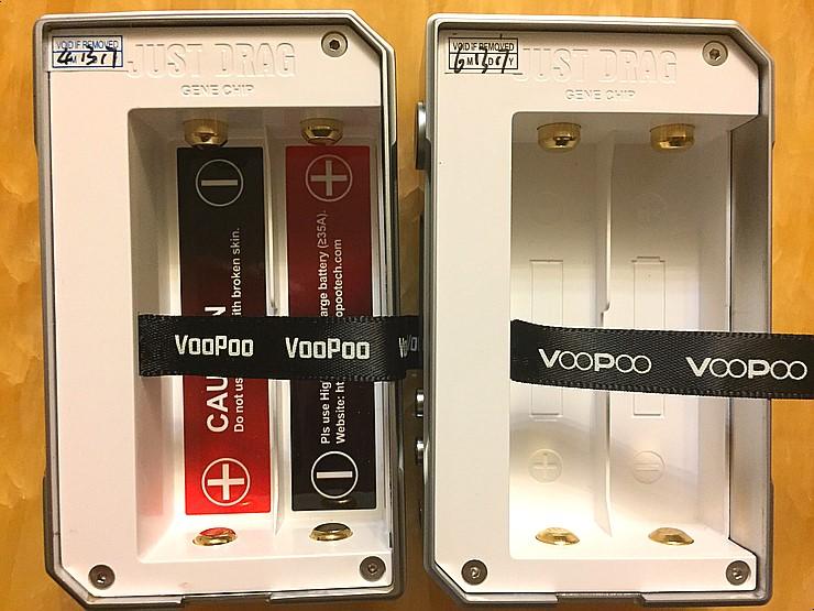VOOPOO DRAG 157W TC Box Mod Resin Version
