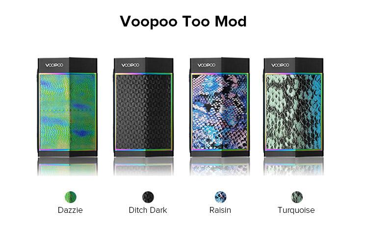 VOOPOO TOO 180W Box Mod Color