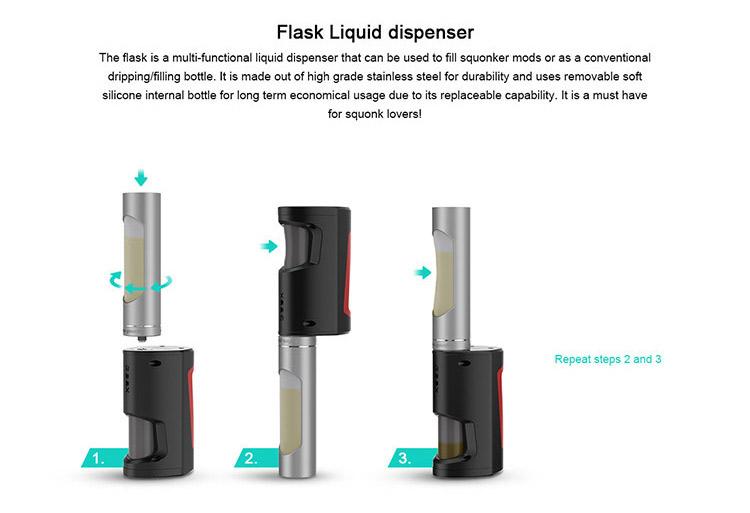 GeekVape Flask Liquid Dispenser Elegomall
