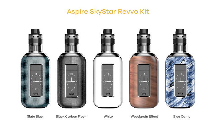 Aspire SkyStar Revvo 210W Box Kit Color
