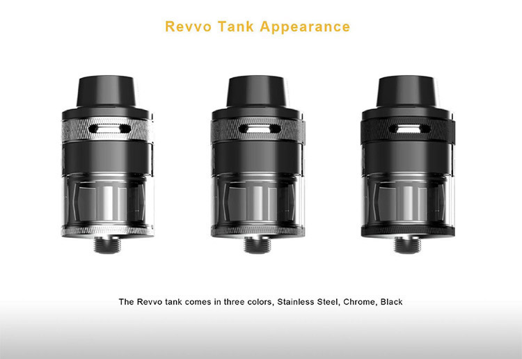 Aspire Revvo Tank Color
