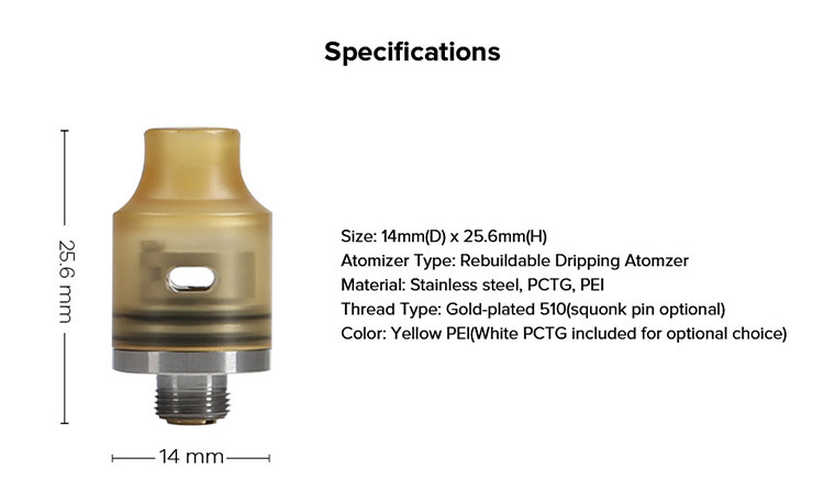 Demon Killer Tiny RDA Parameter