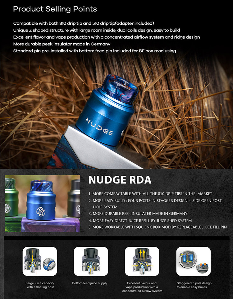 Wotofo Nudge 24 RDA Feature