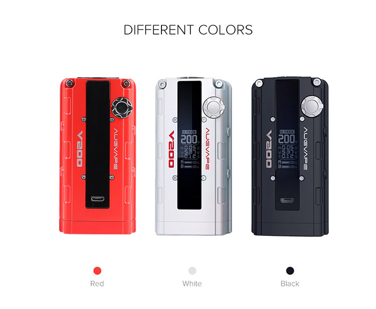 Augvape V200 Box MOD Color