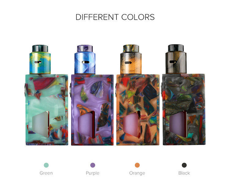 Aleader Funky Squonk Resin Kit Color