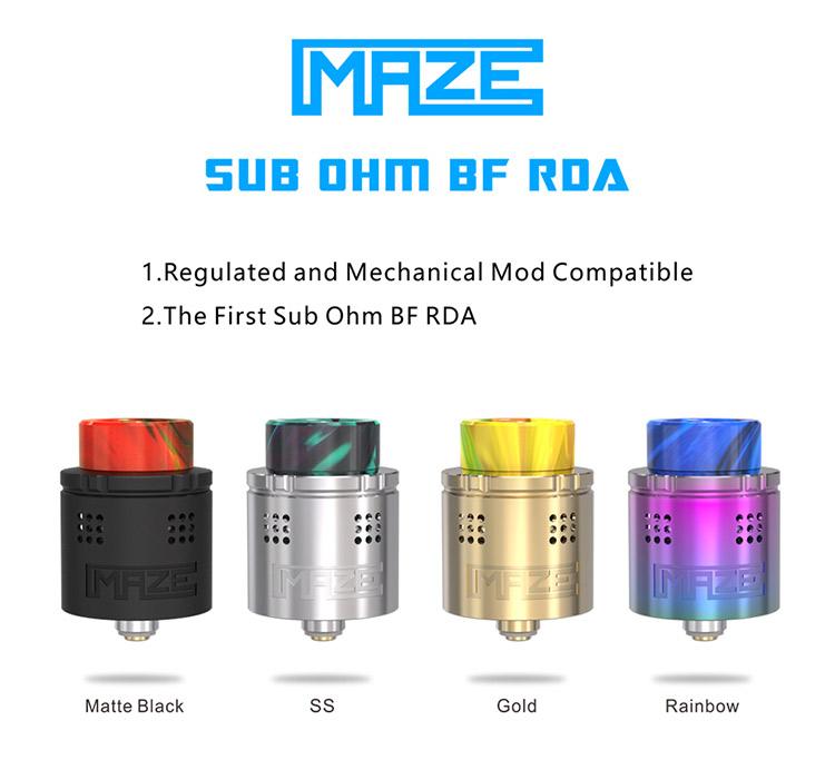 Vandy Vape MAZE SUB OHM BF 24 RDA Color
