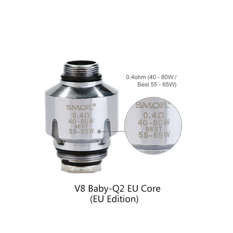 Smok V8 Baby Q2 Core For Tfv8 Baby 3 5 Pcs Pack