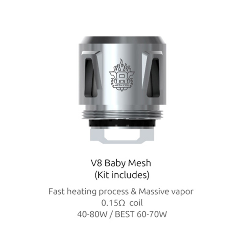 SMOK Mesh Replacement Coil for TFV12 Baby Prince/TFV8 Baby
