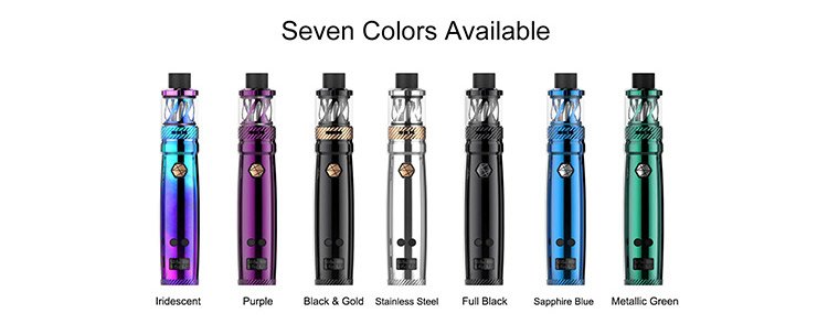 Uwell Nunchaku Tank 80W TC Vape Full Kit Color