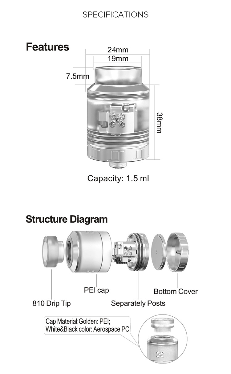 OUMIER VLS BF RDA Tank Parameter
