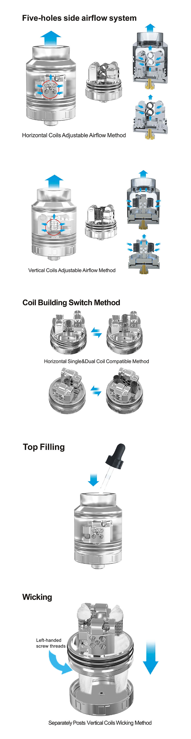 OUMIER VLS BF RDA Tank Feature