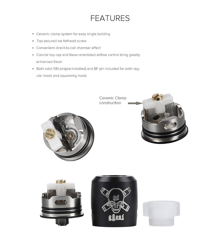 Blitz Ghoul BF RDA Tank Feature