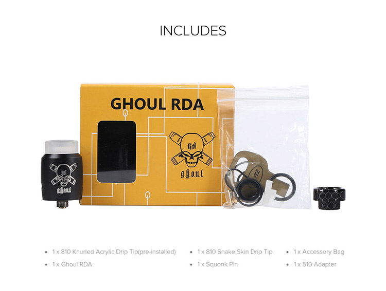 Blitz Ghoul BF RDA Tank Packing List