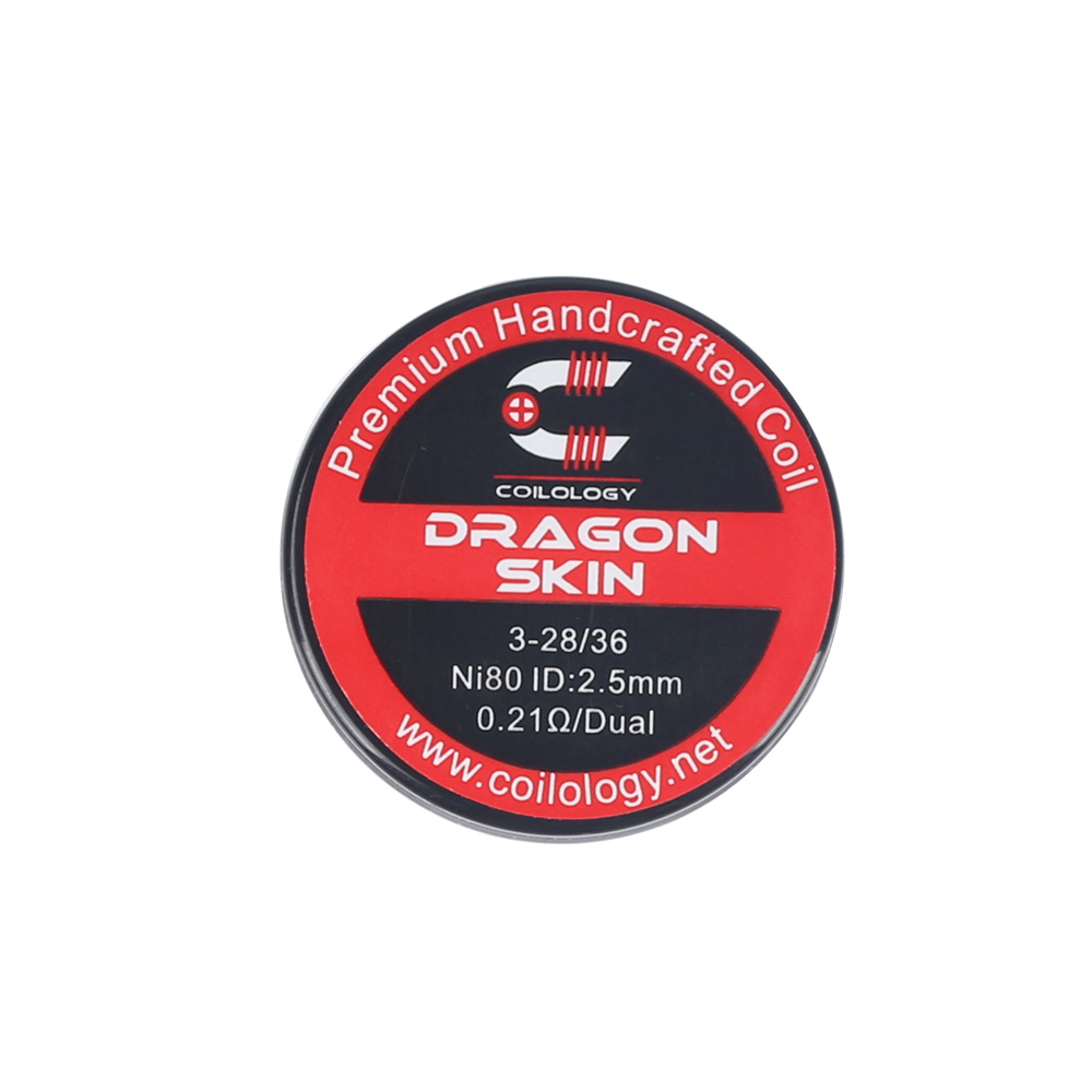 Coilology Dragon Skin Handcrafted DIY Prebuild Coils (2pcs/pack)