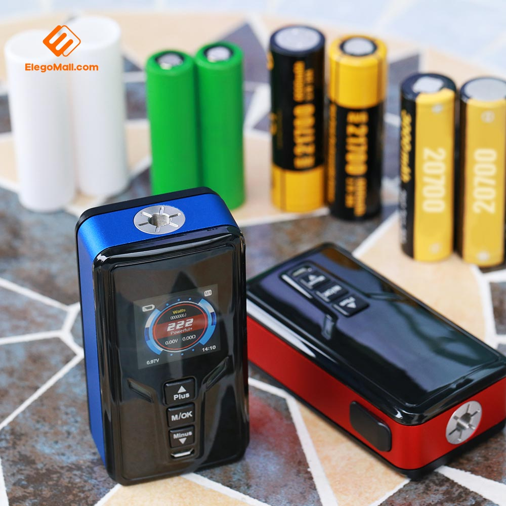 GTRS VBOY 222W 21700 Box Mod with YiHi SX520 Chipset