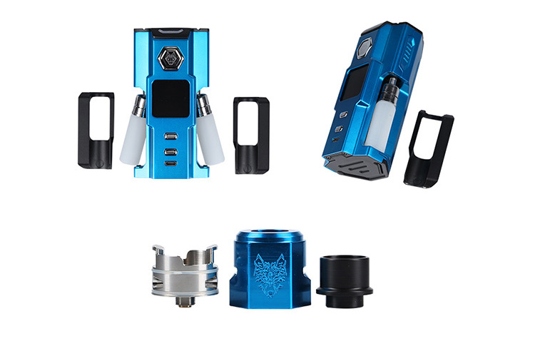 Snowwolf Squonk Vfeng Kit Feature