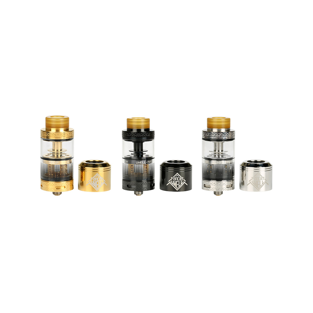 Uwell Fancier RTA/RDA Tank Atomizer - 4ml