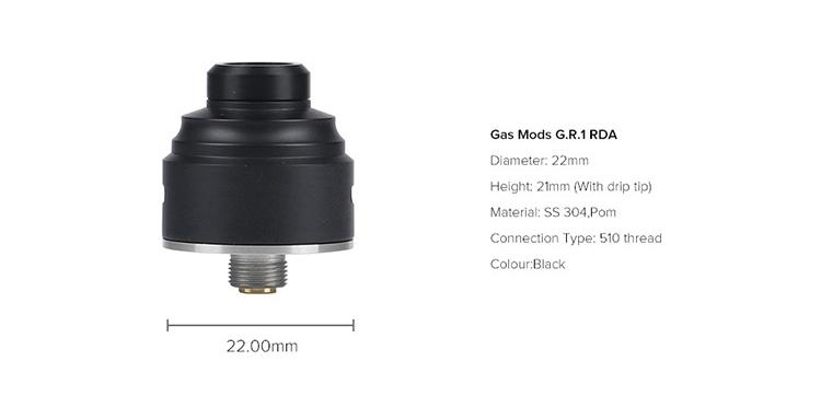 Gas Mods G.R.1 BF RDA Parameter