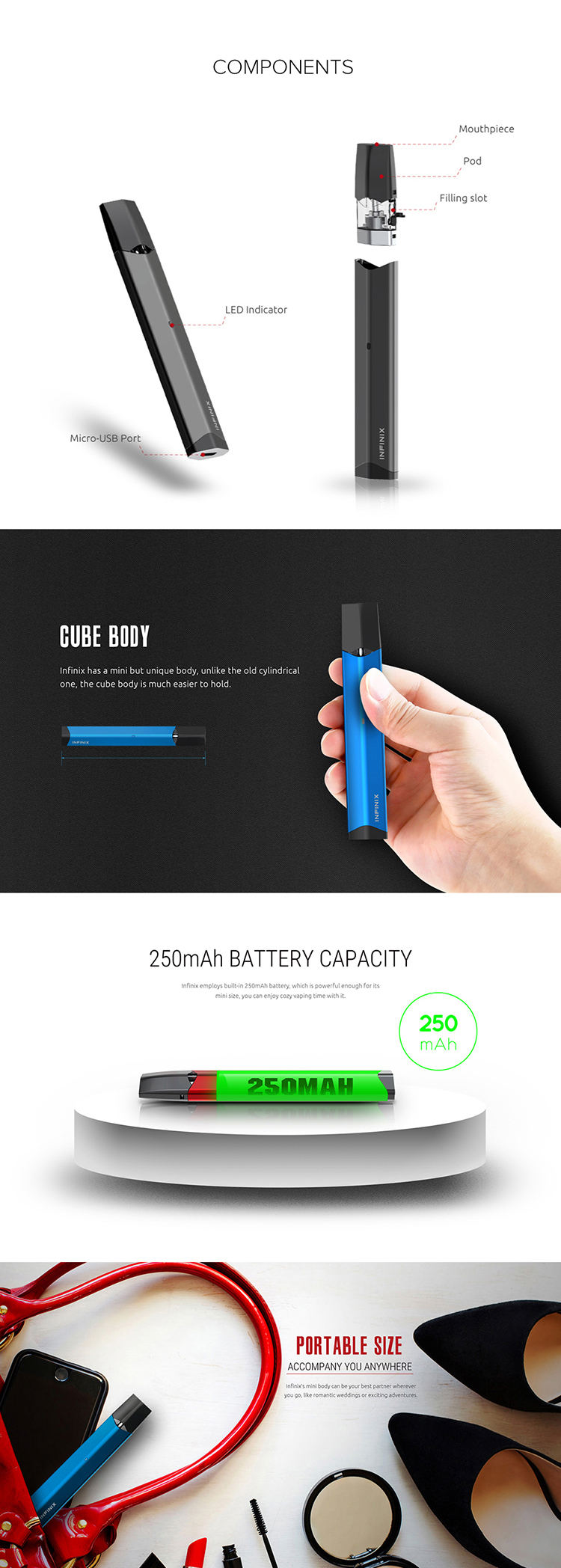 SMOK Infinix Kit Main Feature