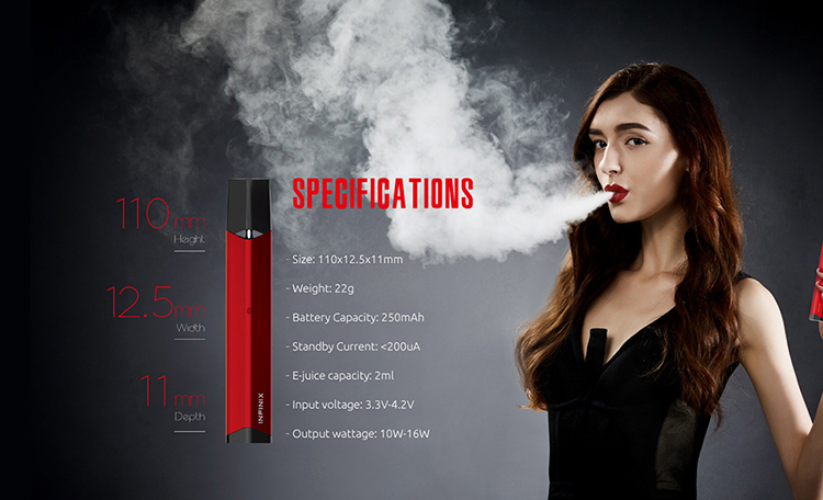 SMOK Infinix Kit Parameter