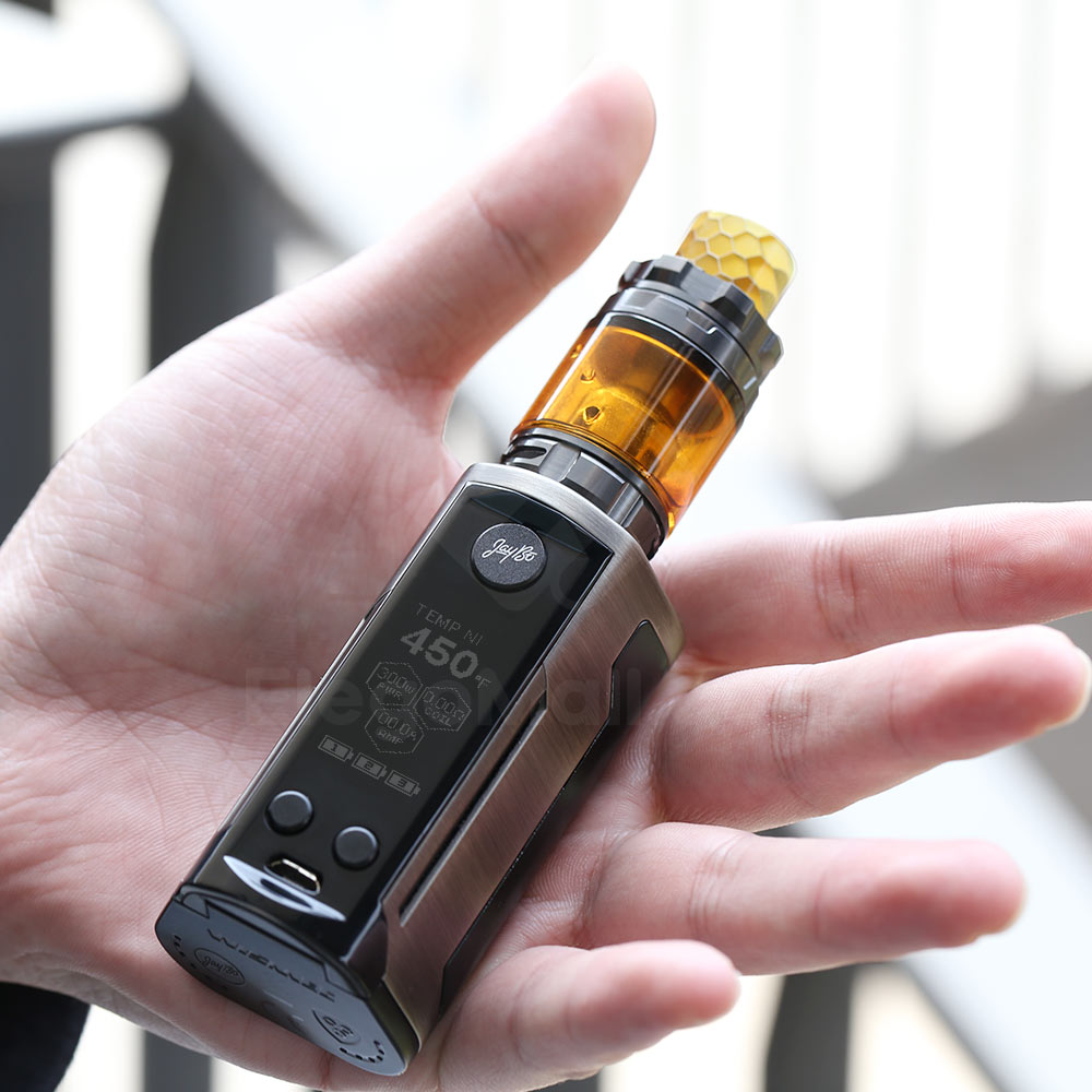 Wismec Reuleaux RXGEN3 Dual with GNOME King Kit