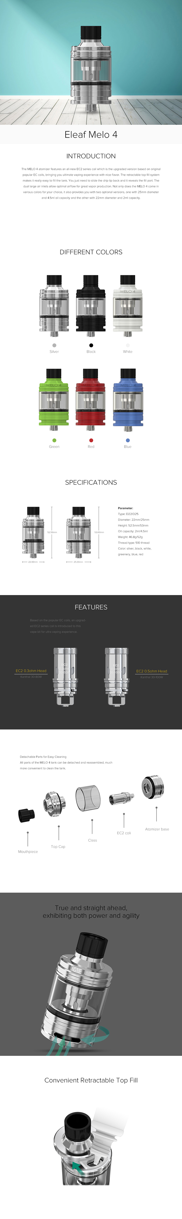 The MELO 4 atomizer