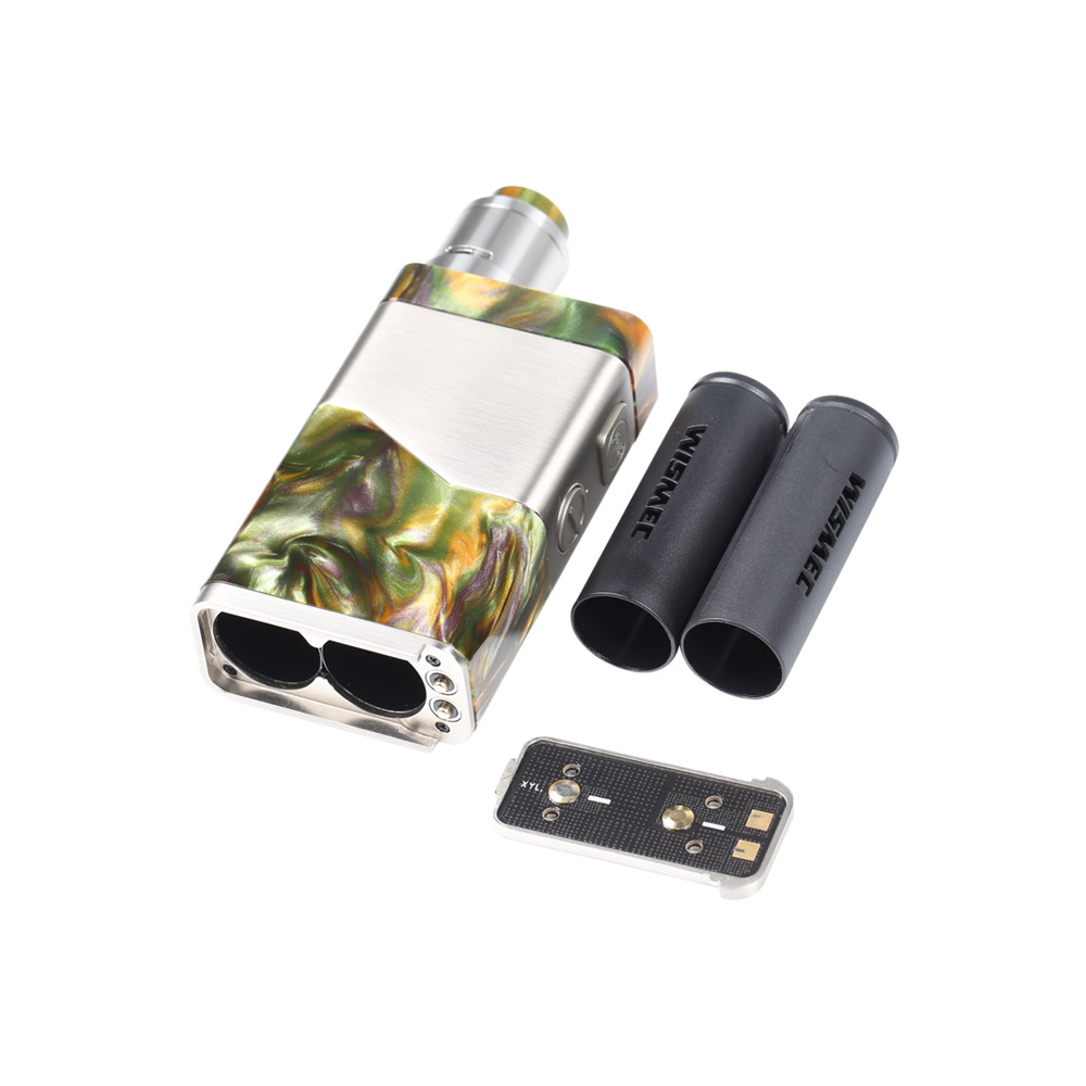 Wismec Luxotic NC 250W Dual 20700 Kit with Guillotine V2 RDA