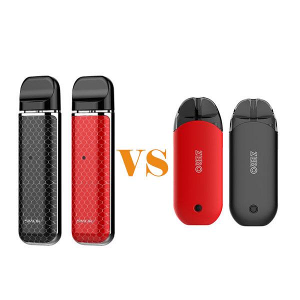SMOK NOVO Kit vs Vaporesso Renova Zero Kit   for High