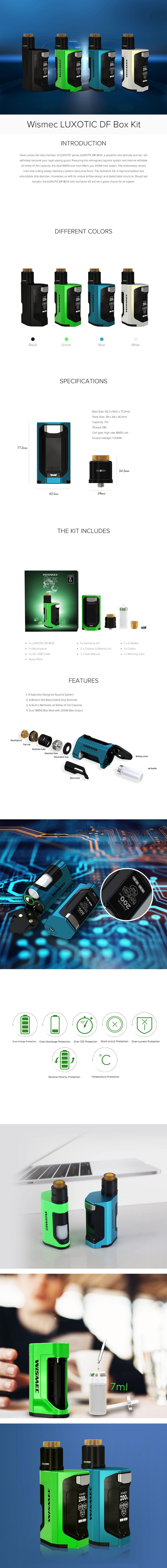 Wismec Luxotic DF 200W Kit