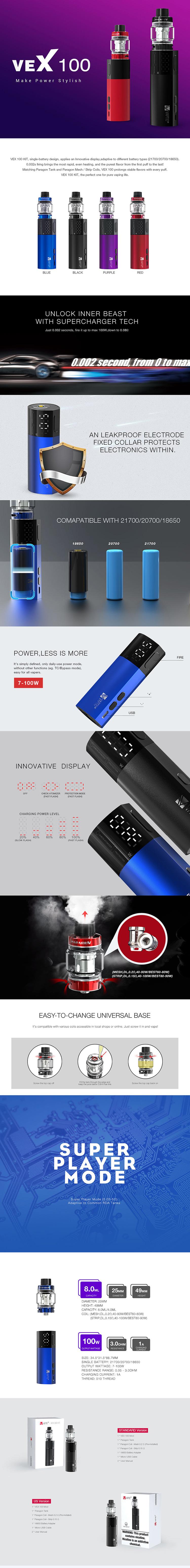 Vaptio VEX 100 Kit