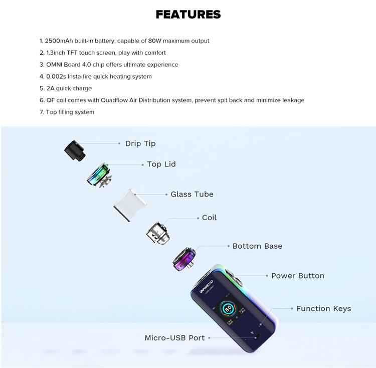 Vaporesso Luxe Nano 80W Kit