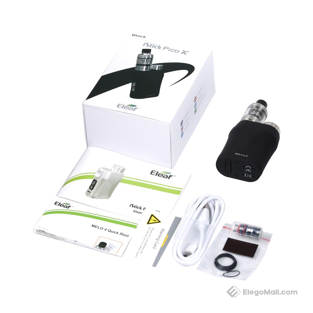 Eleaf iStick Pico X 75W with Melo 4 Starter Kit