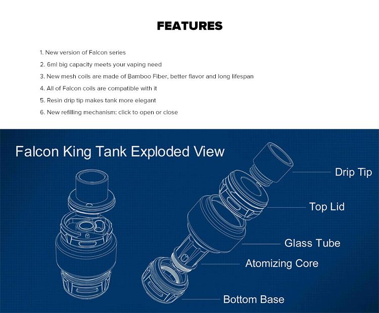 HorizonTech Falcon King Sub Ohm Tank