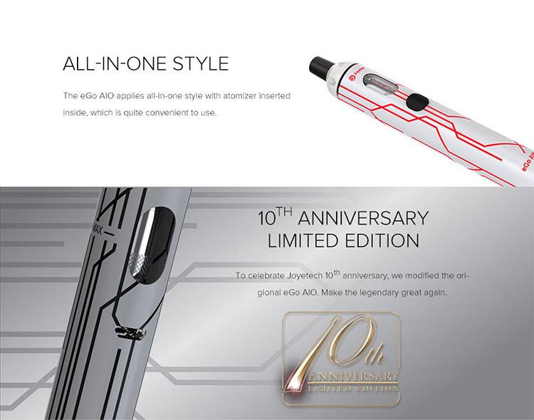 Joyetech eGo AIO Kit 10th Anniversary