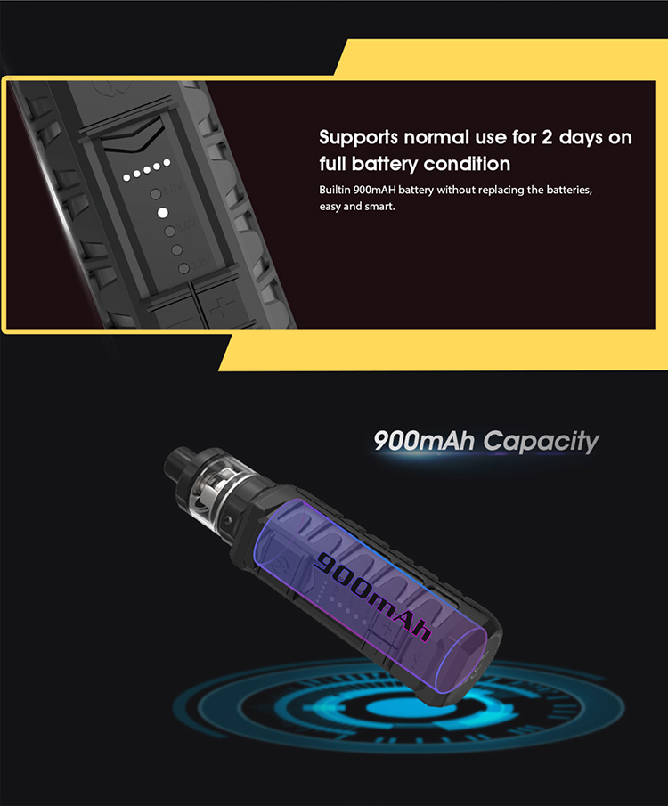 Vandy Vape AP Waterproof Box Mod 900mAh Battery