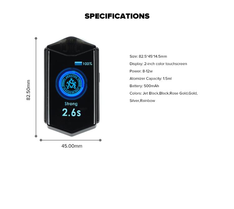 Asvape Touch Pod Starter Kit